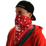 Bandana Designer red/ white