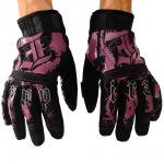 Pipe glove purple/black
